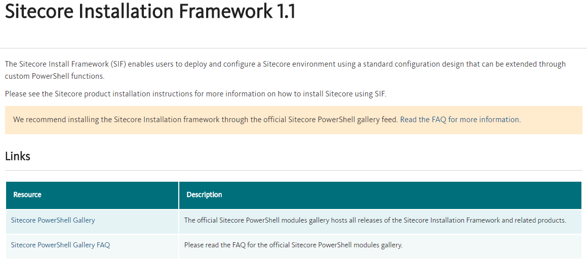 Sitecore 9 and the Sitecore Installation Framework